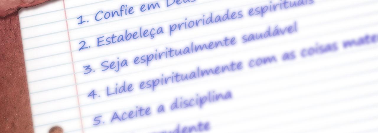 9 Regras Para A Vida Espiritual Chamada