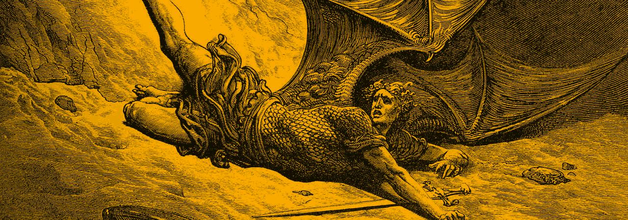 Resultado de imagem para Satanás EXPULSO